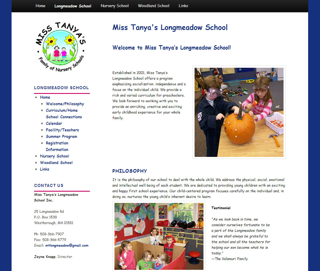 Miss Tanya's Longmeadow School