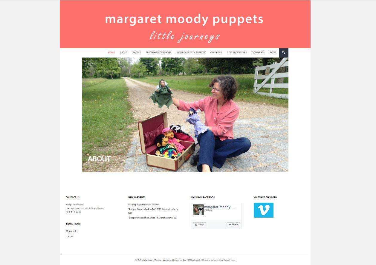 Margaret Moody Puppets screenshot