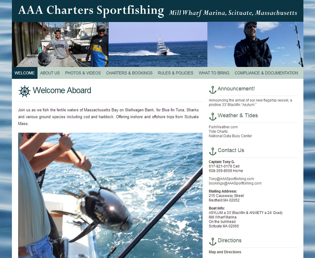 AAA Charters Sportfishing