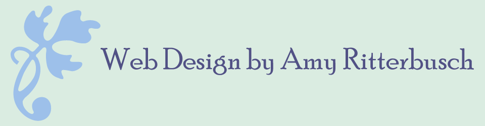 Web Design by Amy Ritterbusch