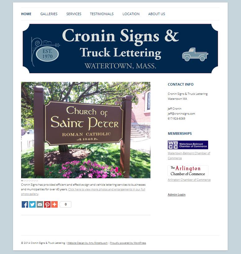 Screenshot - Cronin Signs