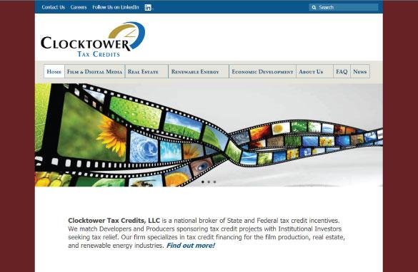 Clocktower Tax Credits screenshot