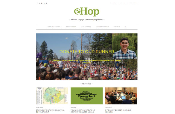 eHop screenshot